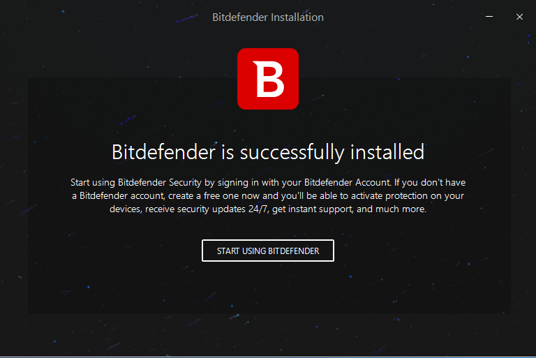 bitdefender security 2018