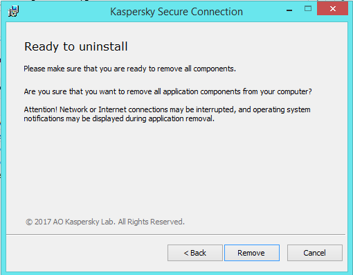 How to Remove Kaspersky Anti-Virus 2018 from Windows (Uninstall