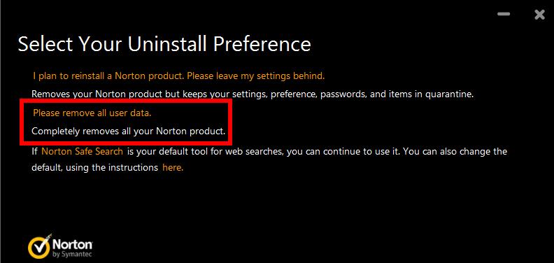 Much Easier Way to Uninstall Symantec Norton AntiVirus Basic
