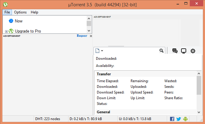 Uninstall µTorrent from My Computer