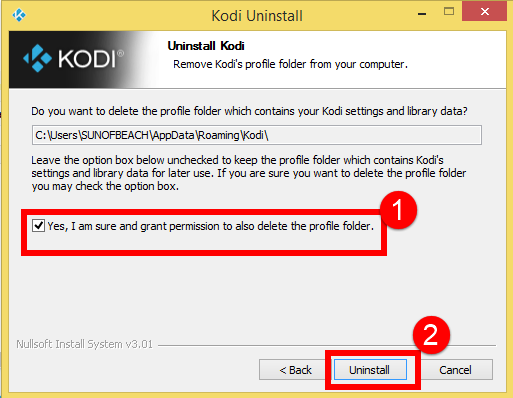 How to Uninstall Kodi on a Windows PC—Kodi Removal