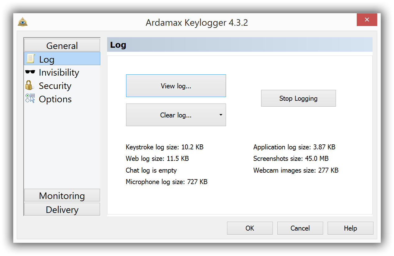 uninstall Ardamax Keylogger
