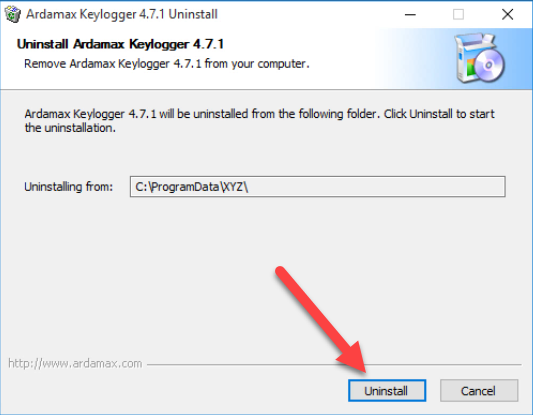manual_remove_Аrdamаx_Kеylogger2