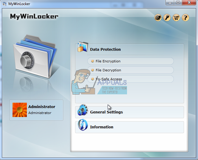 Uninstall MyWinLocker from PC