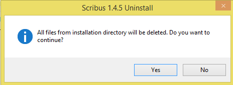 Correct Steps to Completely Remove Scribus 1.4.5