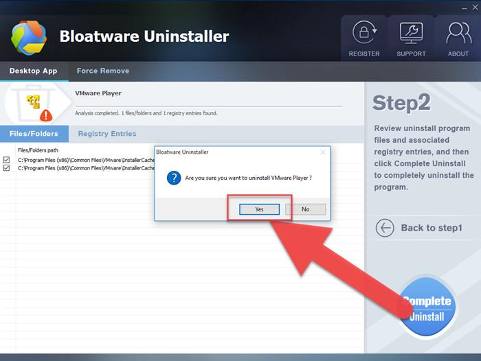 complete_uninstaller_VMware_Player