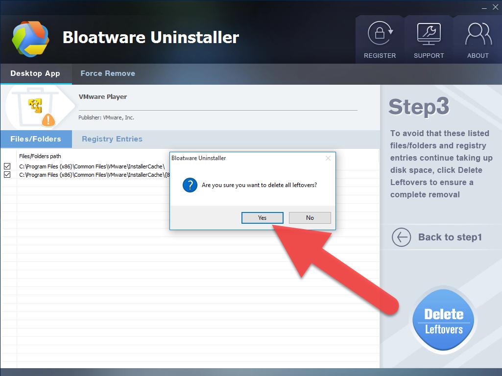 delete_leftovers_VMware_Player
