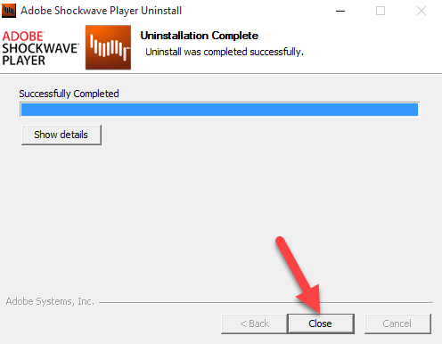how to uninstall shockwave player from windows pc rh bloatwareuninstaller com Adobe Logo adobe shockwave manual download