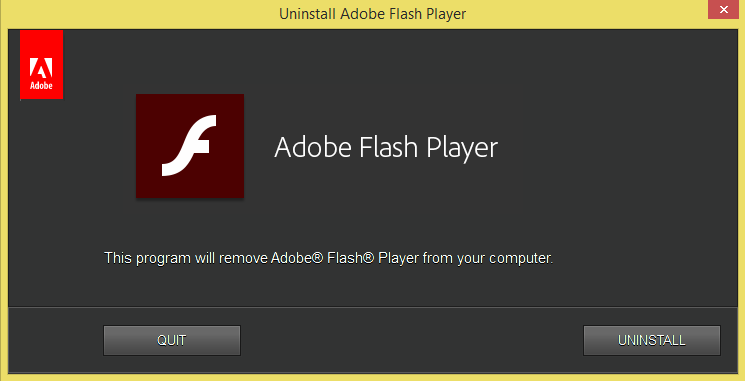 How to Permanently Remove Adobe Flash Player