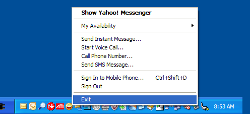 close_yahoo_messenger_system_tray