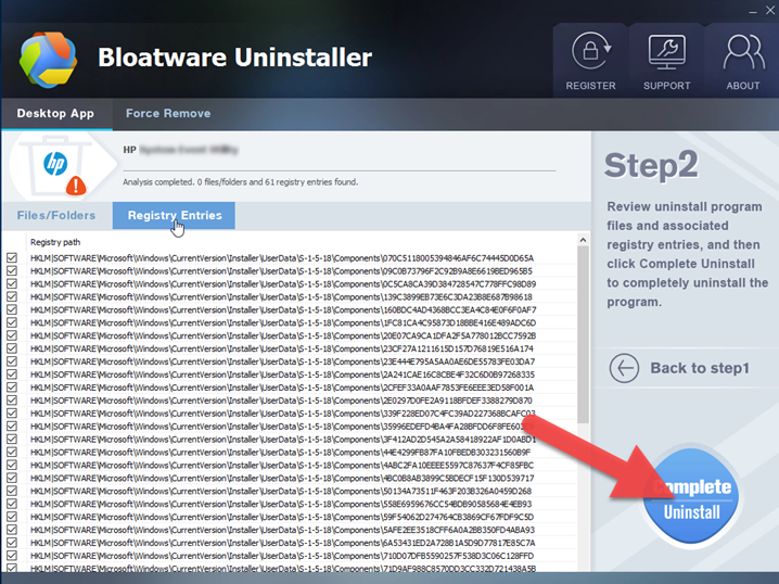 Completely Uninstall HP 3D Driveguard, You Need Bloatware