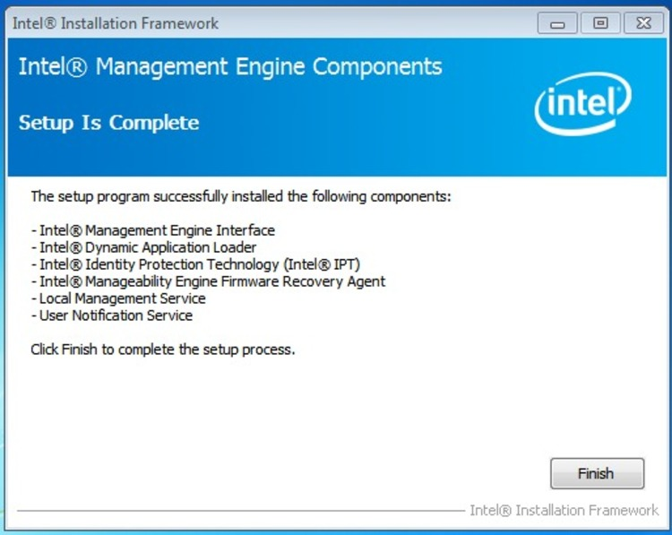Correct Steps to Remove Intel Management Engine Components