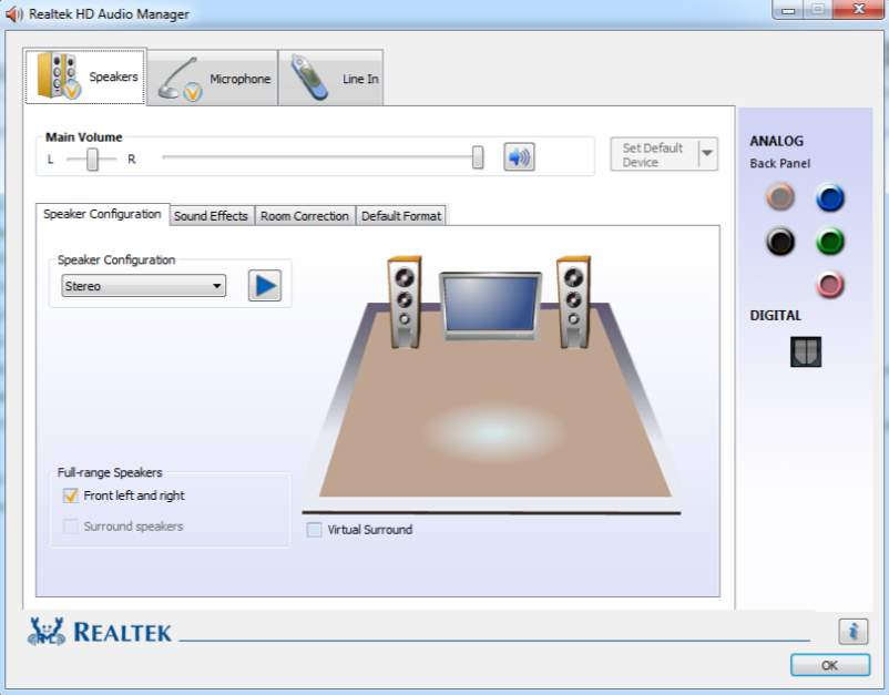 uninstall Realtek High Definition Audio Driver