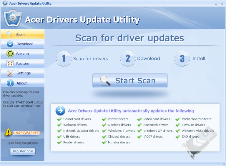 Uninstall Driver Setup Utility on PC