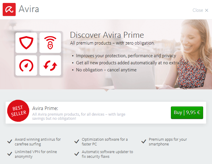 does avira work