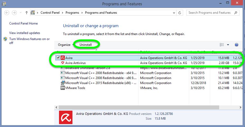 Solved: How Do I Uninstall Avira Antivirus 2019 for Good?
