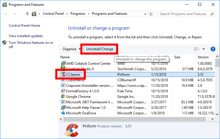 driver support active optimization uninstall