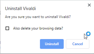 delete your browsing data