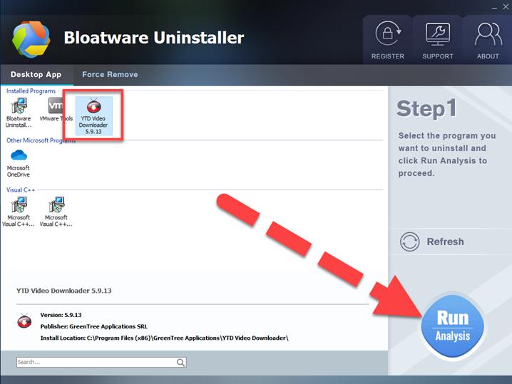 uninstall YTD Video Downloader