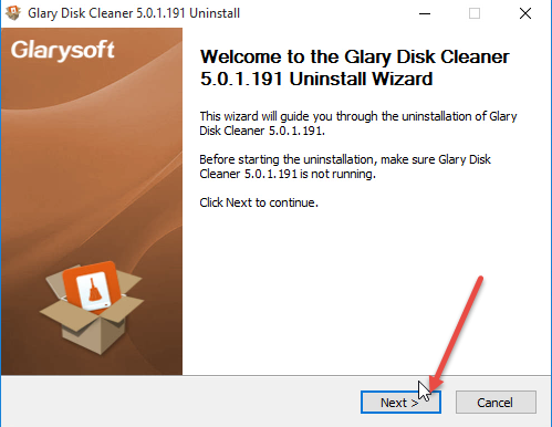 remove-glary-disk-cleaner-3