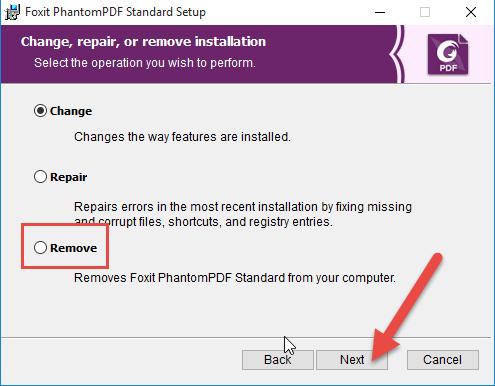 remove-foxit-phantompdf-3