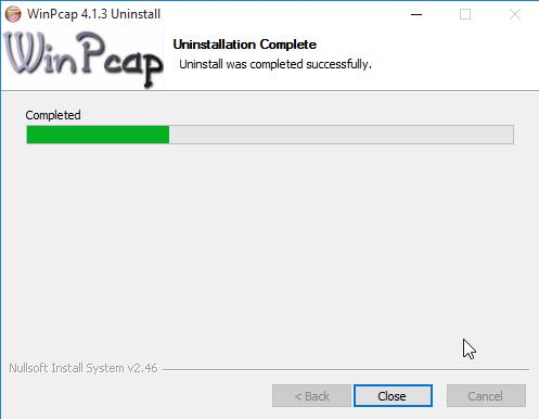 uninstall-winpcap-3