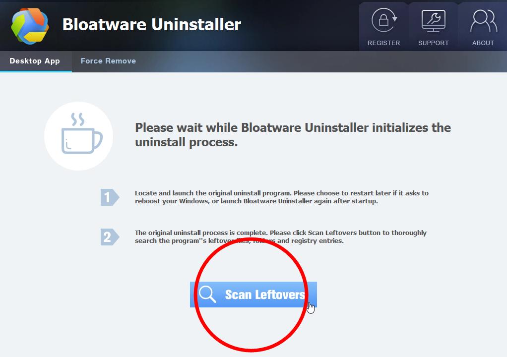 Uninstall Discord with Bloatware Uninstaller
