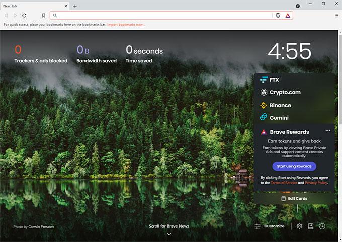 Uninstall Brave Browser