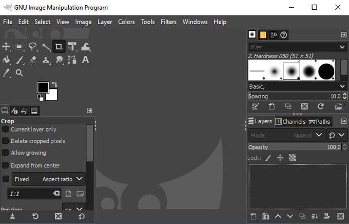 Uninstall GIMP from Windows